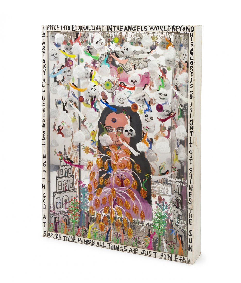 1120: Howard Finster, (American, 1916-2001), 3000 and 5