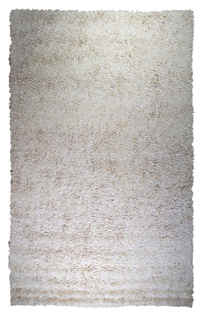 1060: A Gallop Tweed Wool Rug, Flitterman, 16 feet 1 in