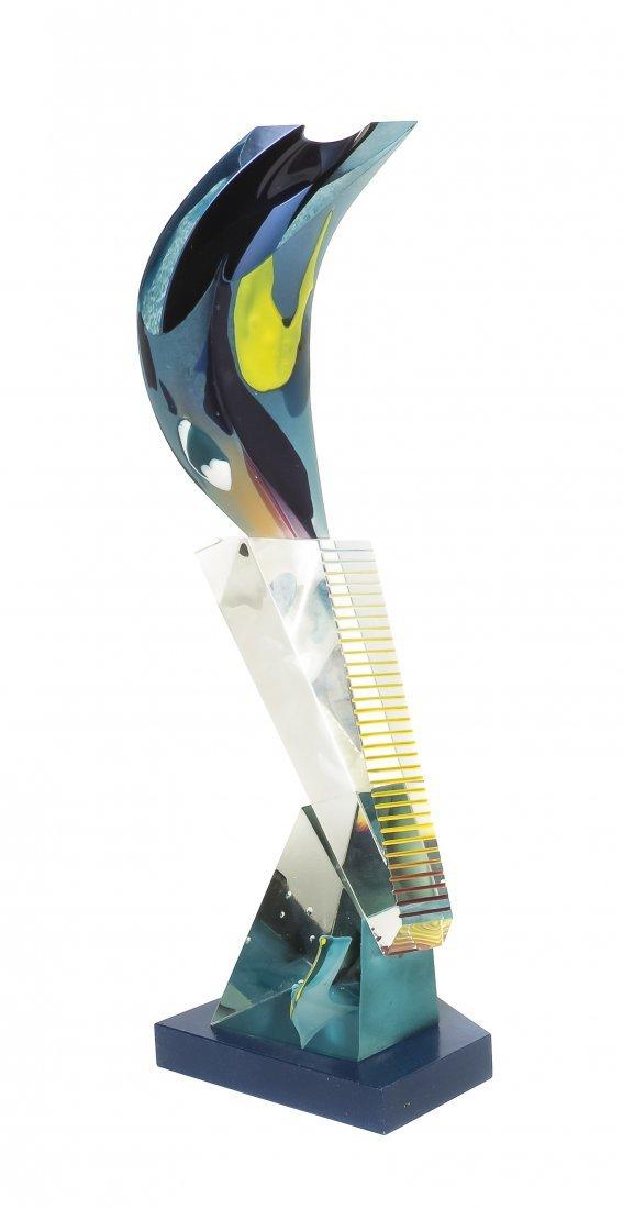 1072: A Glass Sculpture, Robert Dane (American, b. 1953