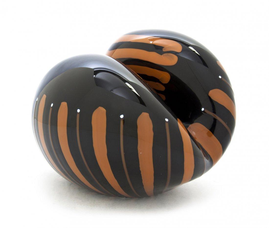 1073: A Murano Glass Free Form Table Object, Lino Tagli