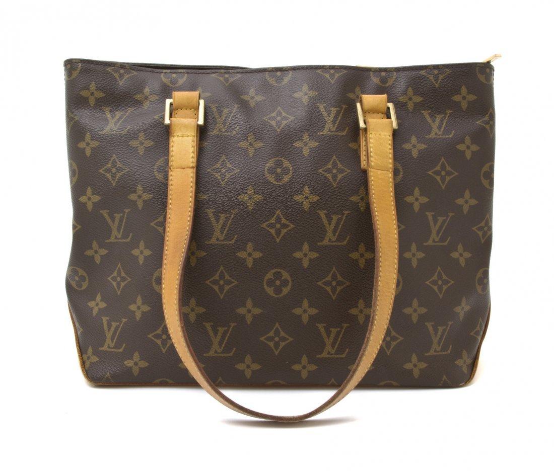 511: A Louis Vuitton Monogram Canvas 'Cabas Piano' Bag,