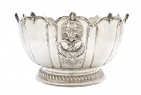 A William And Mary Silver Monteith Bowl, George Gart