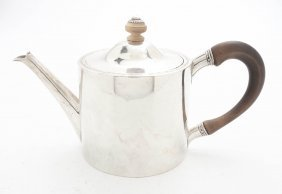 A George III Silver Teapot, John Parker & Edward Wa
