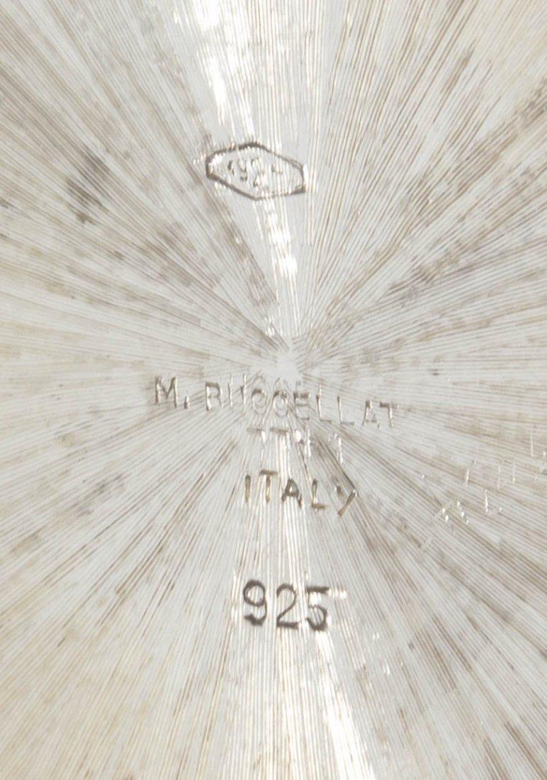 191: An Italian Silver Ice Bucket, Buccellati, Height 5 - 2