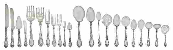 378: An American Sterling Silver Flatware Service for T