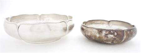 490: Two American Arts & Crafts Sterling Silver Bowls,