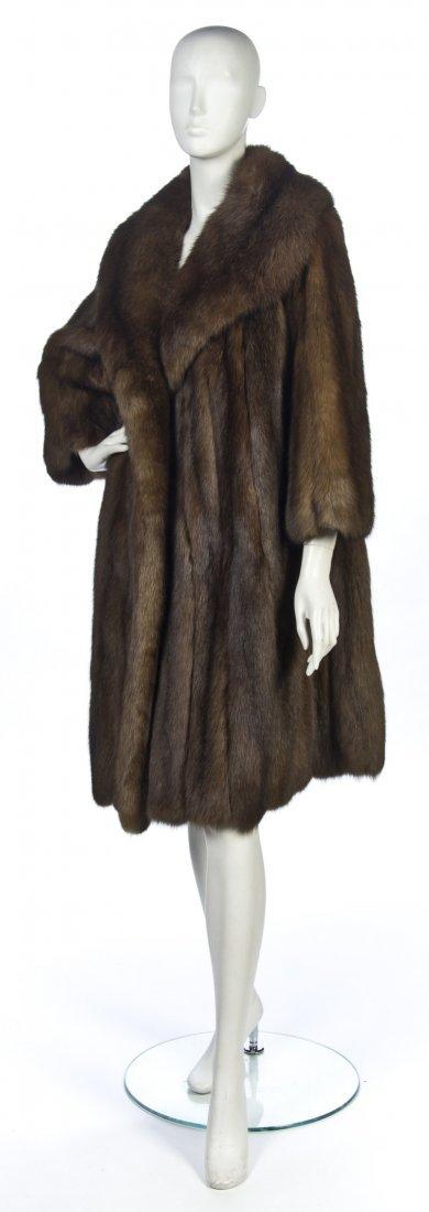 521: A Sable Fur Coat.