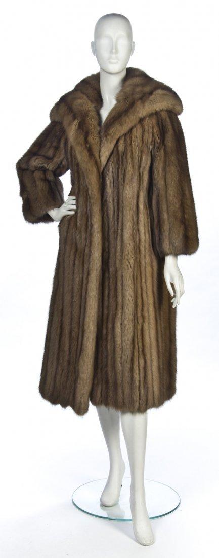 524: A Sable Fur Coat.