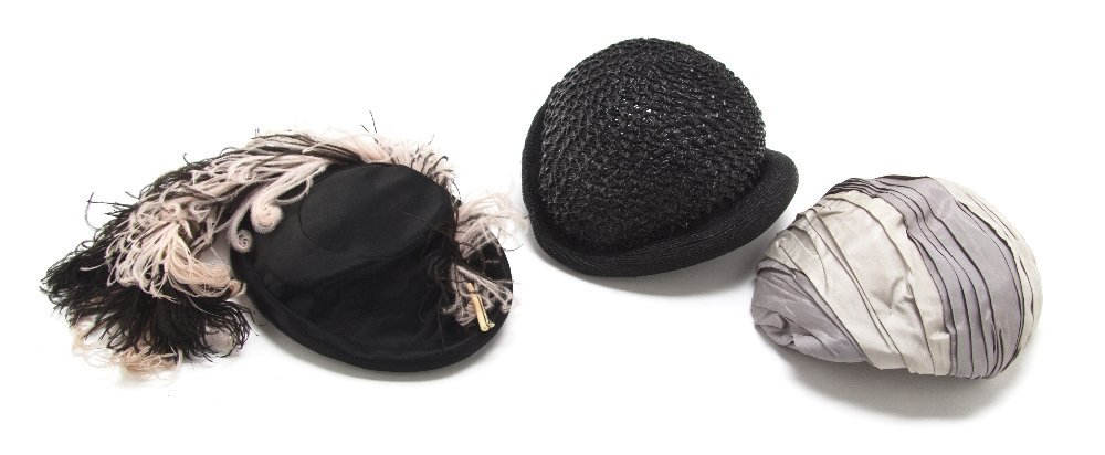 551: A Group of Couture Hats,