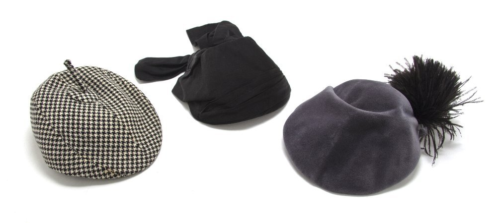 552: A Group of Couture Hats,