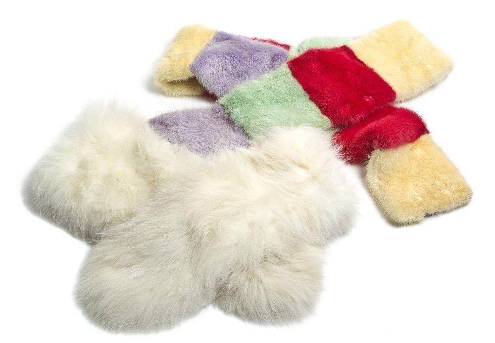 553: Two Fur Stoles,