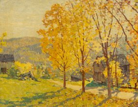 Everett Longley Warner, (American, 1877-1963), Fall