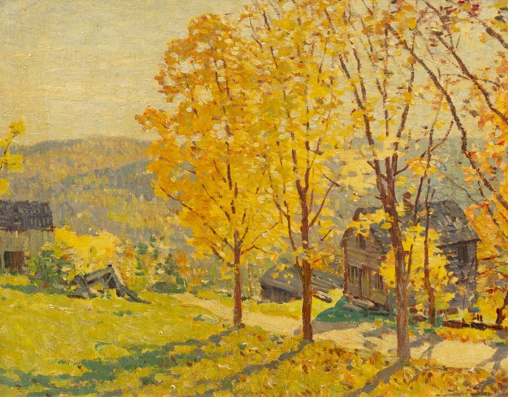 1: Everett Longley Warner, (American, 1877-1963), Fall