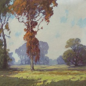 2: James Topping, (American, 1879-1949), Autumn Afterno