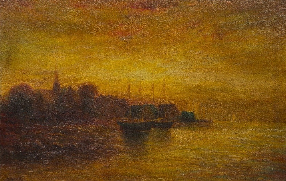 9: Hudson Mindell Kitchell, (American, 1862-1944), Ship