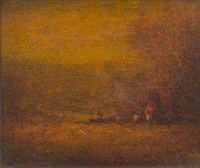 Albert Pinkham Ryder, (American, 1847-1917), Autumn