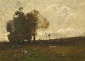 John Francis Murphy, (American, 1853-1921), Fall Fi