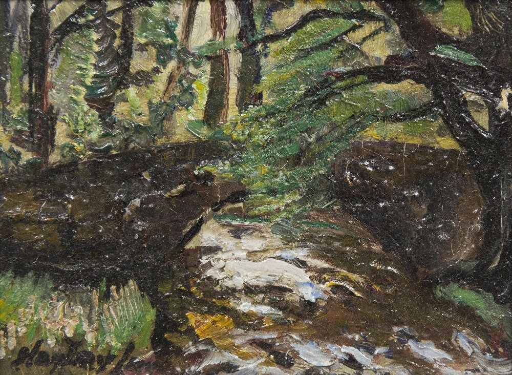 18: Hayley Lever, (American, 1876-1958), Bridge in the