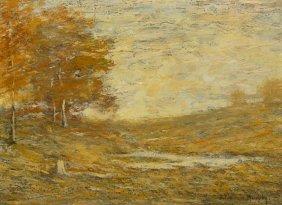 John Francis Murphy, (American, 1853-1921), Autumn