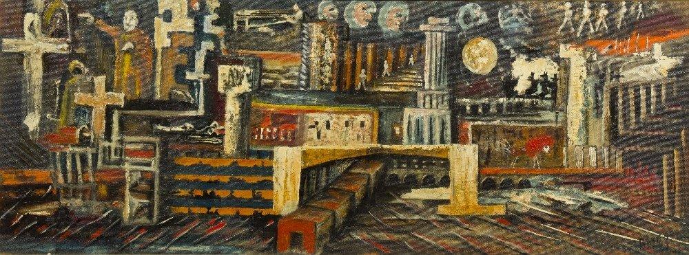1005: Aref el Rayess, (Lebanese, 1928-2005), Untitled,