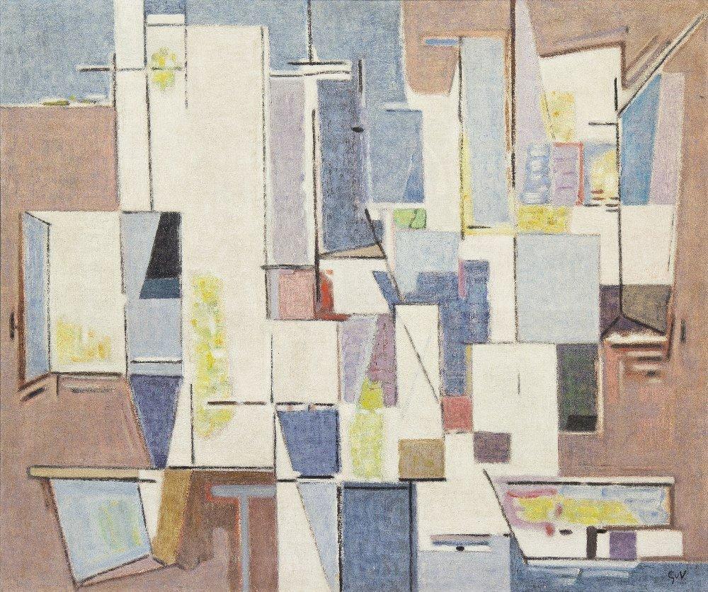 1009: Geer Van Velde, (Dutch, 1898-1977), Untitled