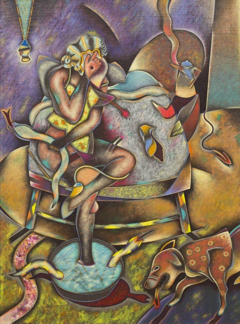 1010: Saul Kaminer, (Mexican, b. 1952), First Light, 19