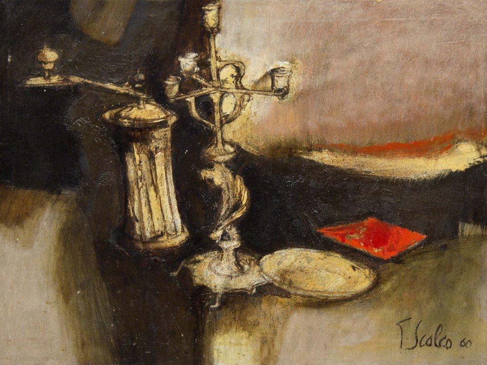 1012: Giorgio Scalco, (Italian, b. 1929), Candelabra an