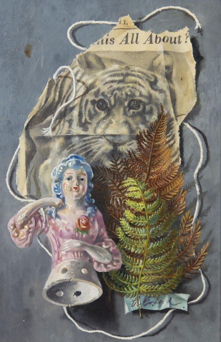 1014: Aaron Bohrod, (American, 1907-1992), Paper Tiger