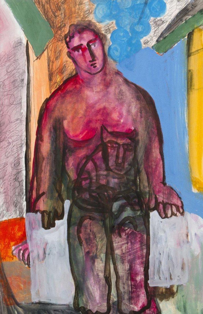 1016A: Sandro Chia, (Italian, b. 1946), Untitled, 1996