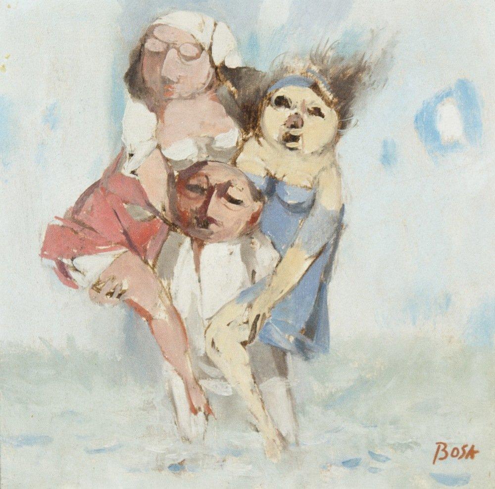 1017: Louis Bosa, (Italian/American, 1905-1981), Man's