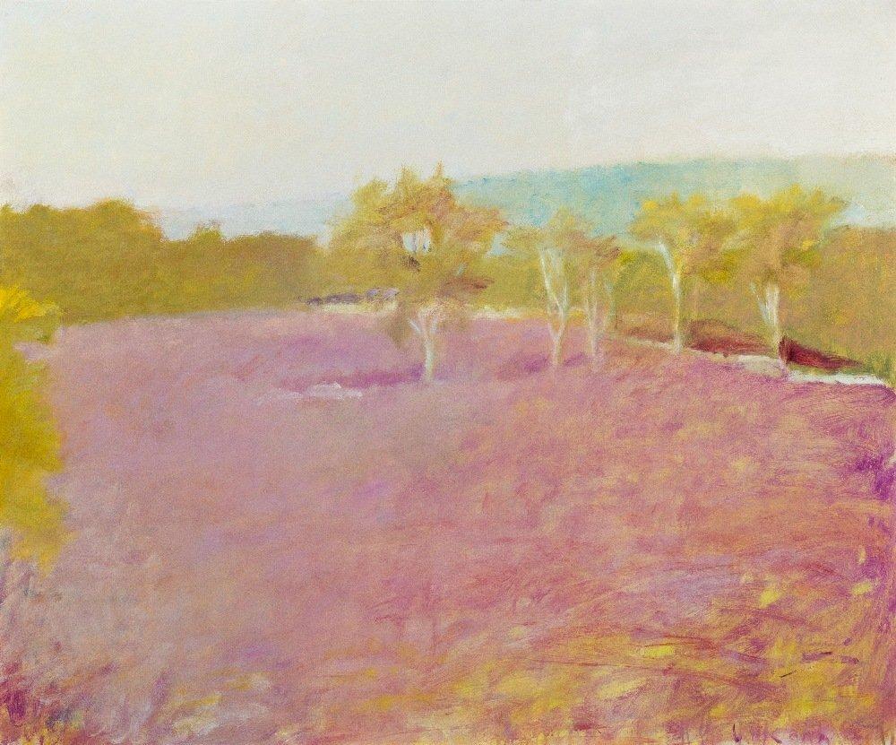 1022: Wolf Kahn, (American/German, b. 1927), Blueberry