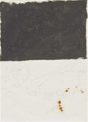 1065: Joseph Beuys, (German, 1921-1986), African drawin