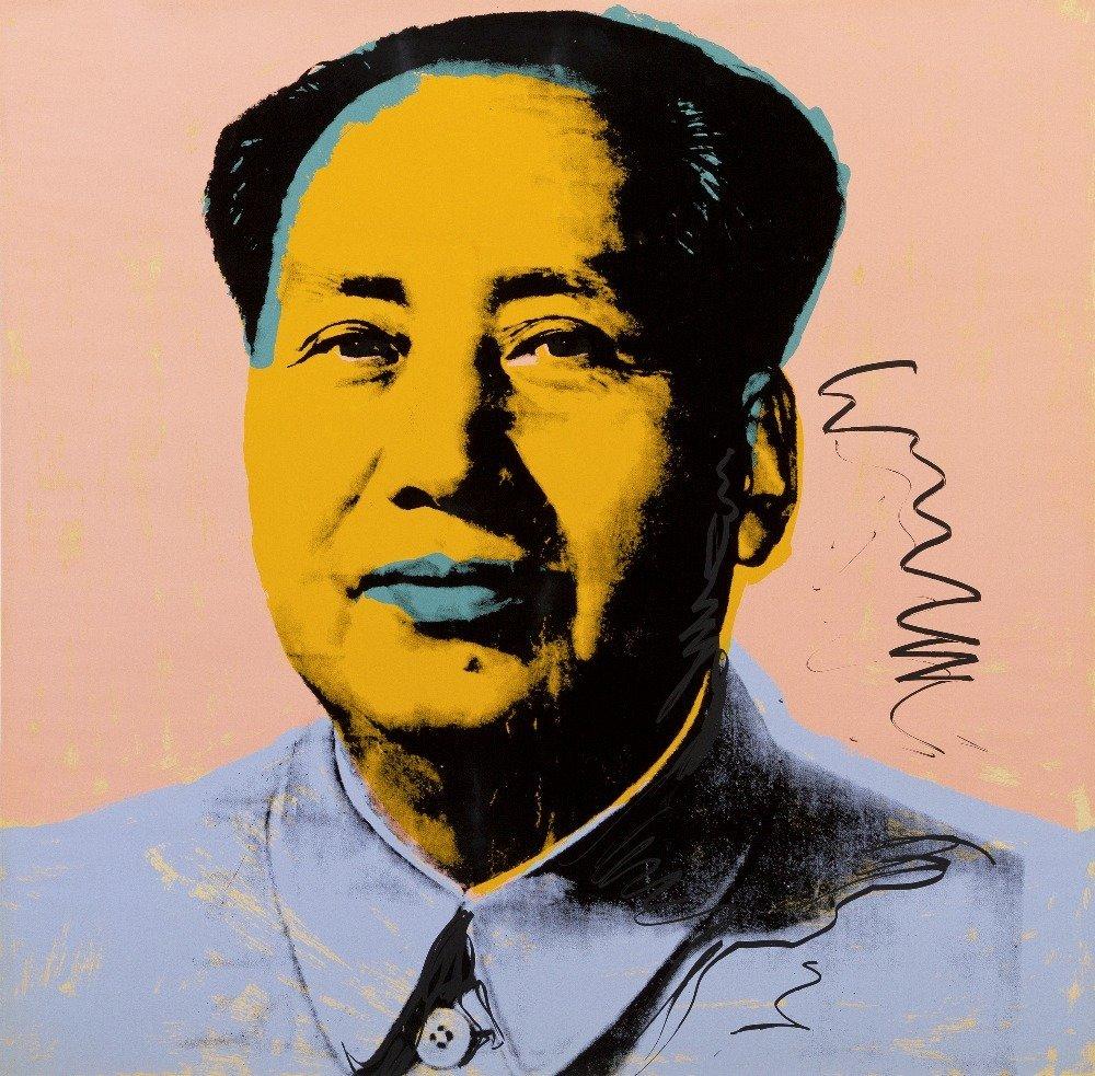 1132: Andy Warhol, (American, 1928-1987), Mao