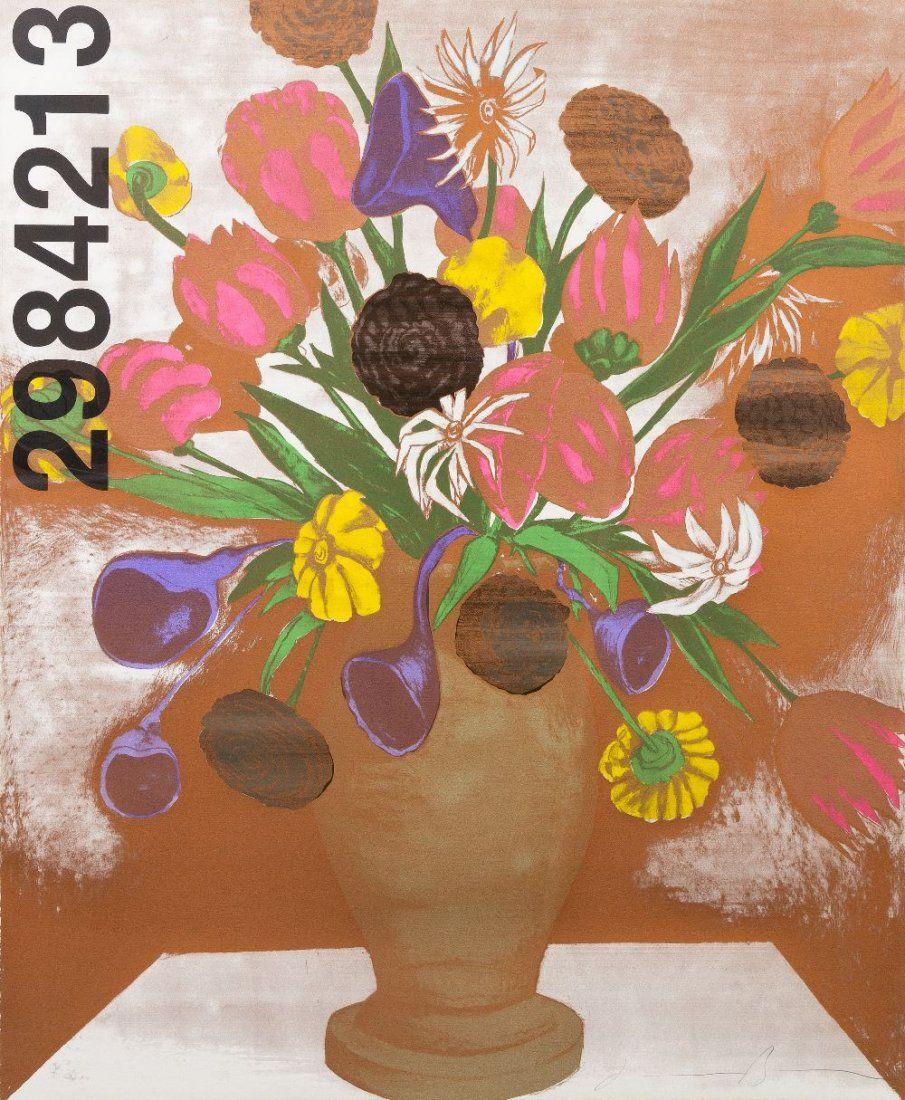 Jonathan Borofsky, (American, b. 1942), Flowers N