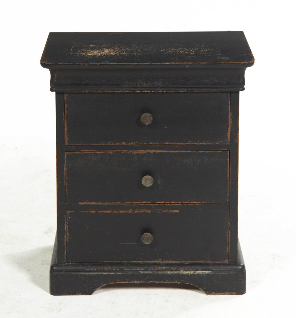 2006: An American Diminutive Painted Chest, Height 24 1