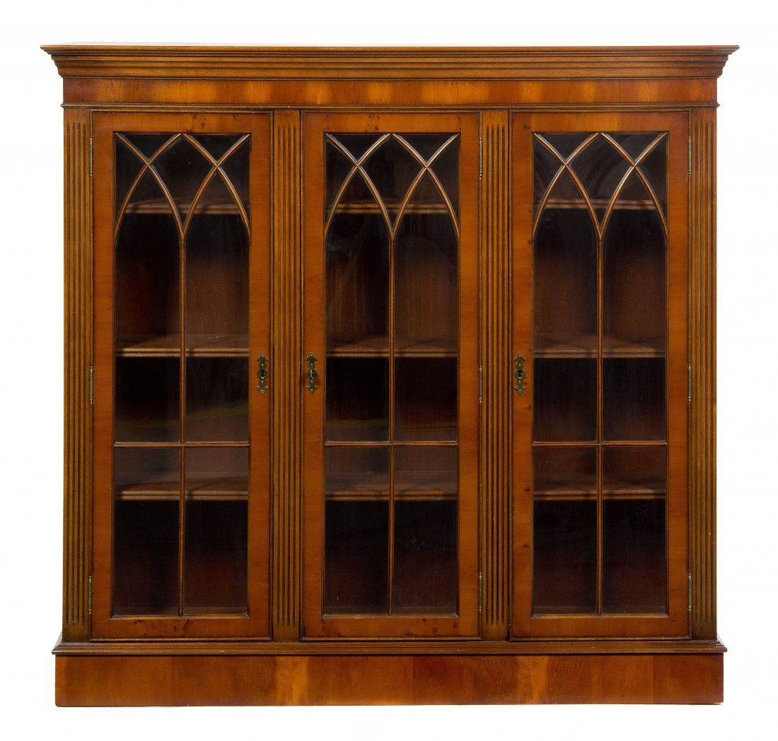 2015: An American Vitrine Cabinet, Height 40 1/2 x widt