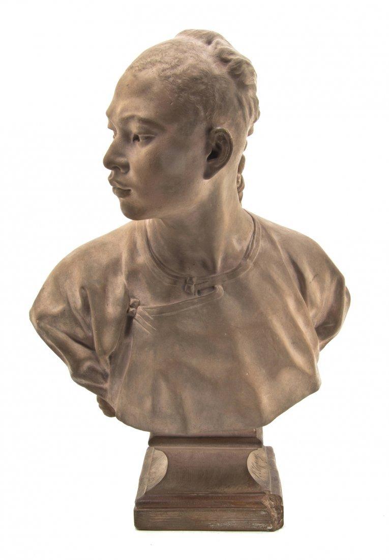 119: A French Terracottta Bust, Jean-Baptiste Carpeaux