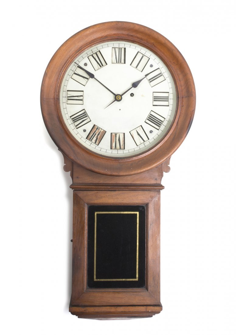 660: An American Cherry Kosmic Clock, E. Howard and Co.