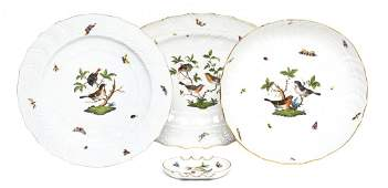 986 Four Herend Porcelain Table Articles Width of wid