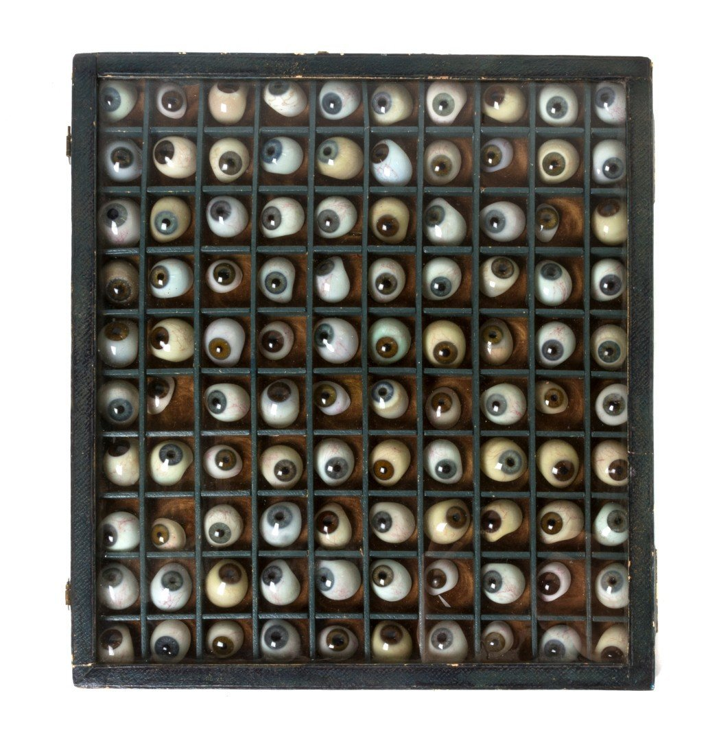 1372: A Collection of Prosthetic Glass Eyes, Height of