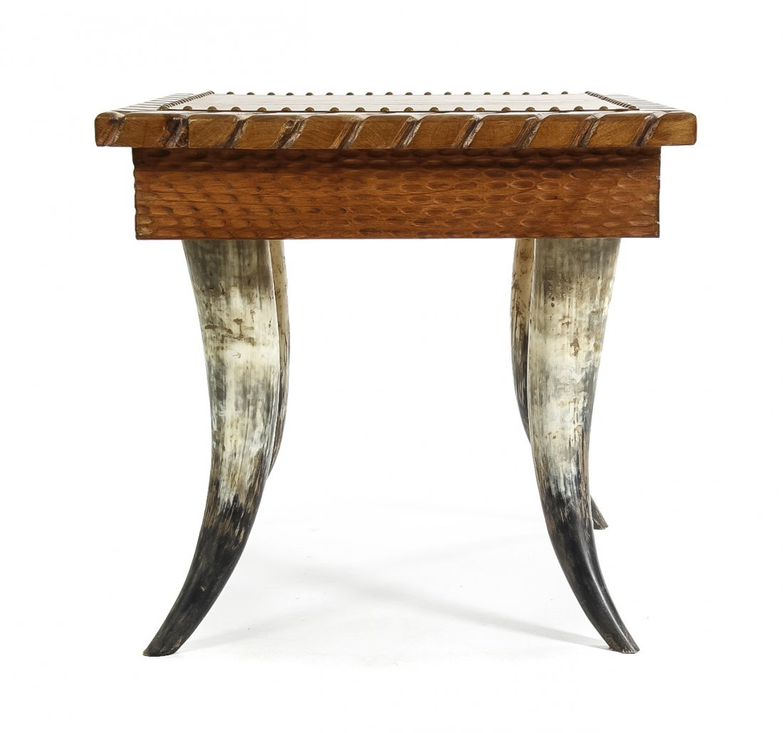 A Rustic Occasional Table, Height 23 x width 24 x depth