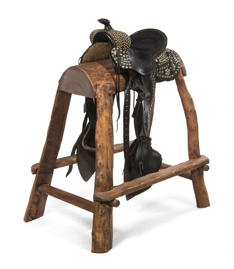 A Lichtenberger-Ferguson Riding Saddle, Size of seat 14