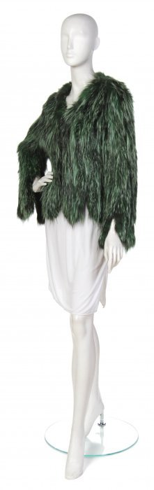 Adrienne Landau, (American), Fur Jacket