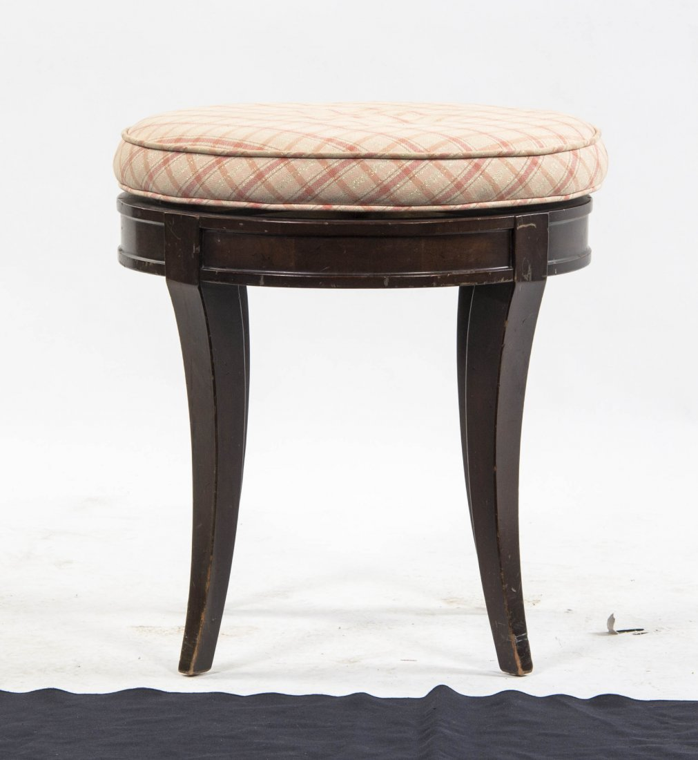 An Upholstered Vanity Stool, Meyer Gunther Martini, Hei
