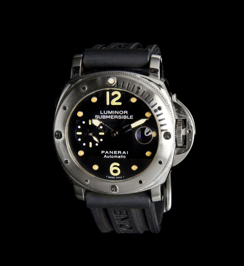 A Stainless Steel Ref. PAM 024 Submersible Wristwatch,
