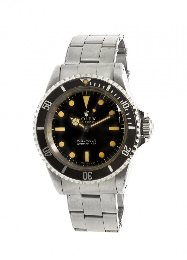 A Stainless Steel Ref. 5513 Submariner Wristwatch, Role