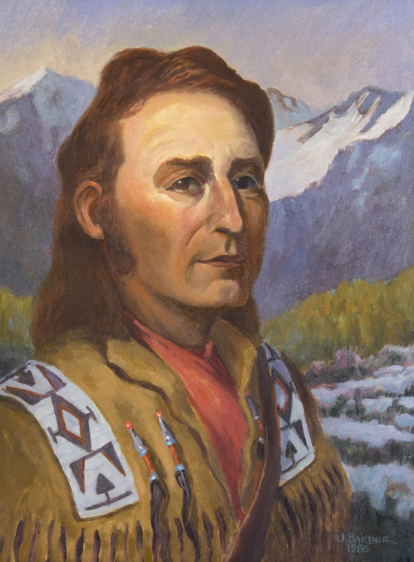 (LEWIS AND CLARK) BARBER, J. A pair of portrait of Will