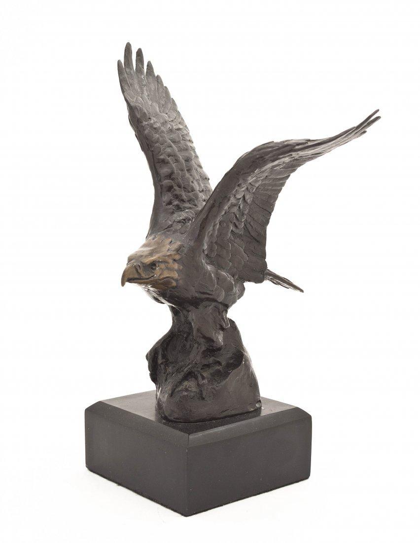 Laurence Isard, (American, 1932-2009), Bald Eagle