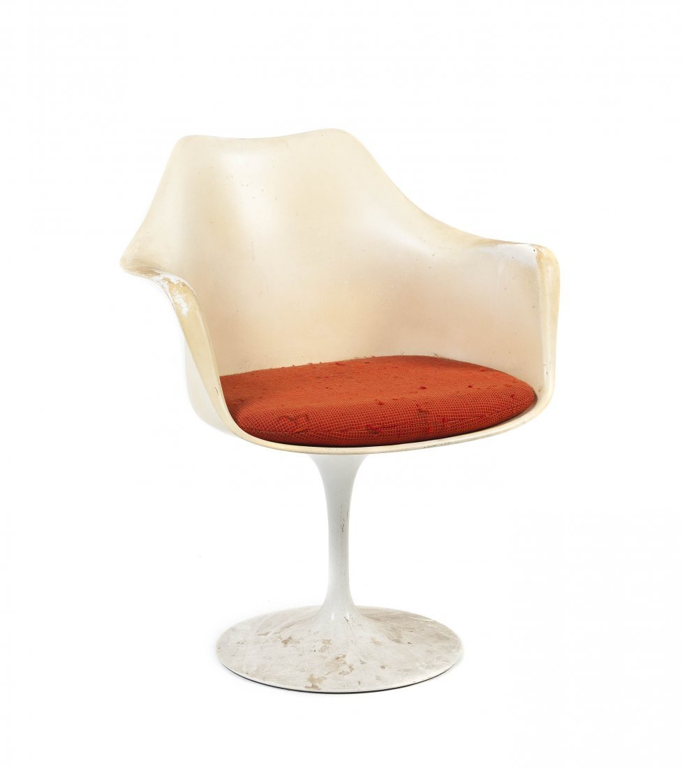 A Charles and Ray Eames Molded Fiberglass Shell Chair,