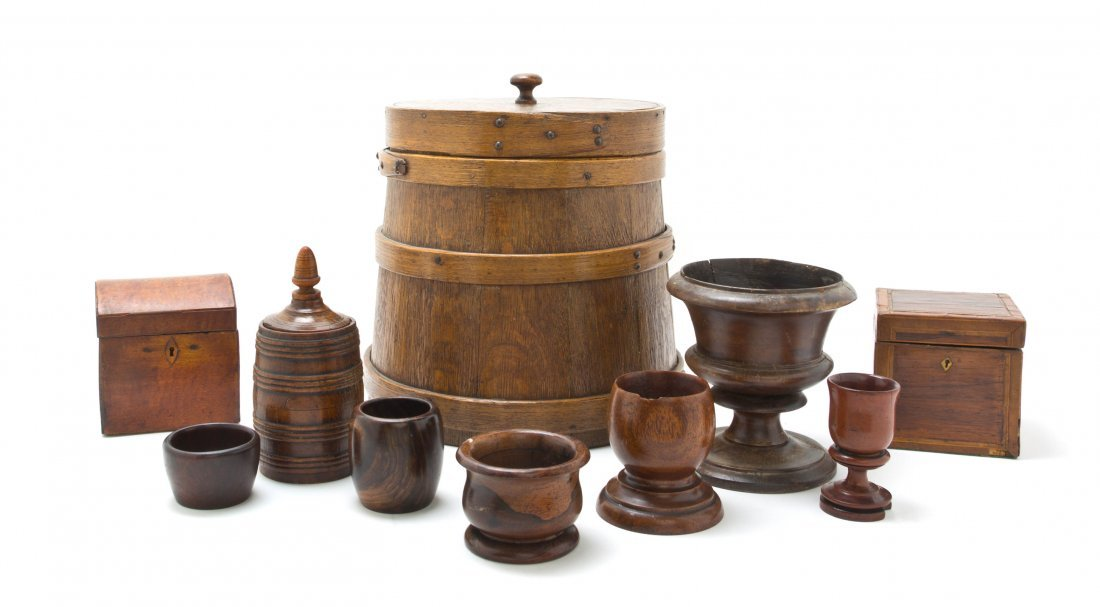 A Collection of Turned Wood Articles, Height of firkin